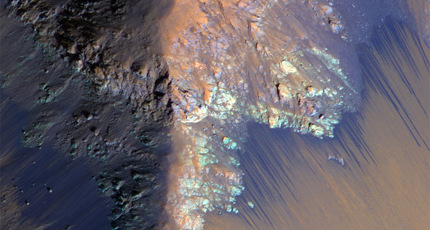 Salt deposits