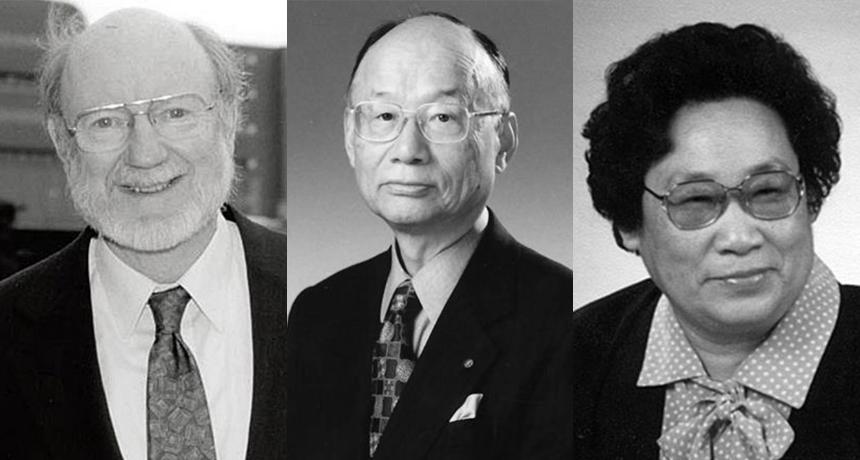 William C. Campbell, Satoshi Ōmura and Youyou Tu