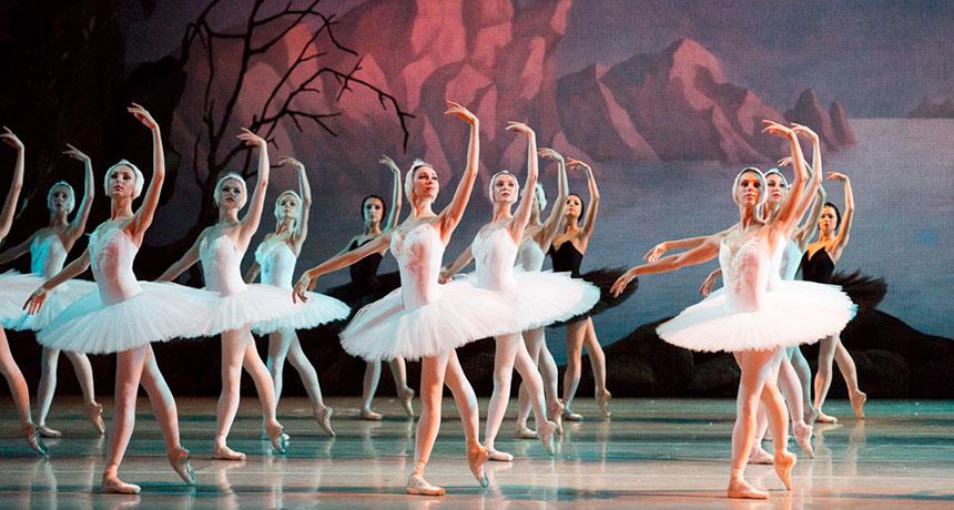 Dancers performing Swan Lake