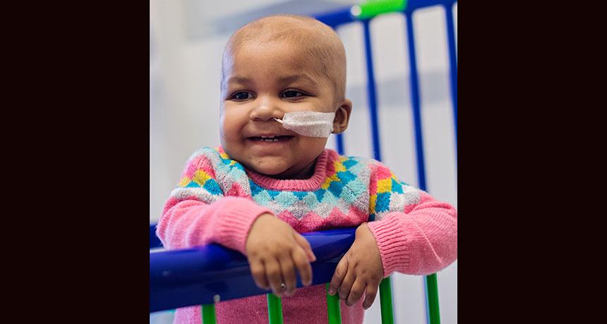 baby who received experimental leukemia treatment