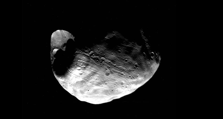 Phobos in 1977