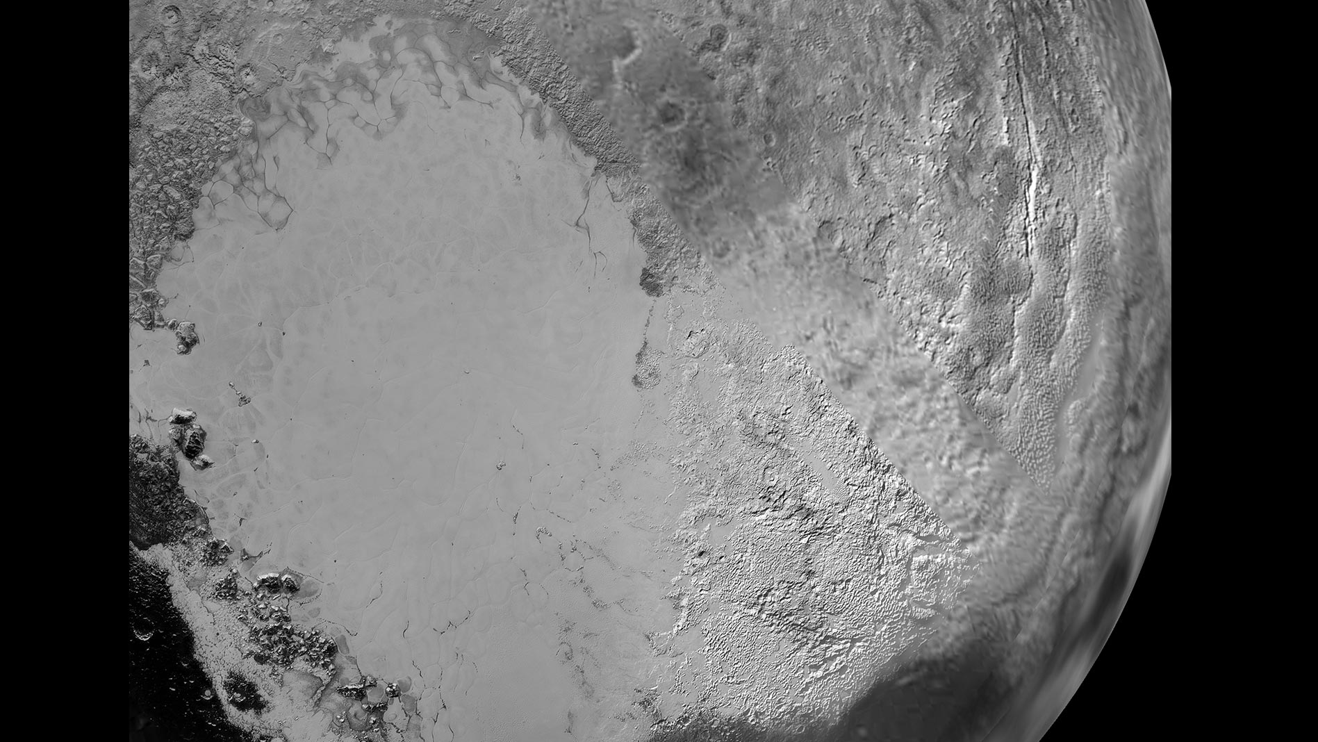 heart-shaped structure on Pluto