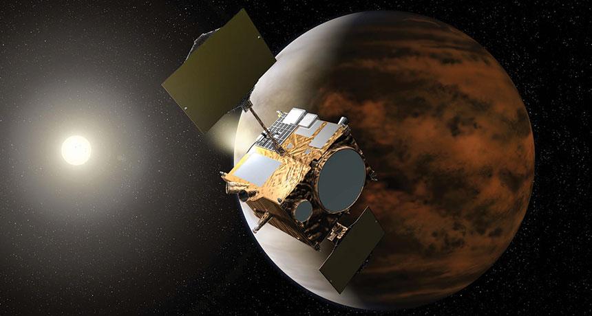 illustration of Akatsuki spacecraft