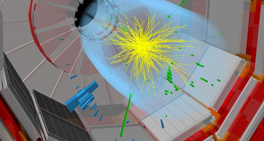 LHC diagram