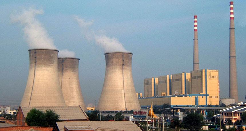 coal plant in Beijing