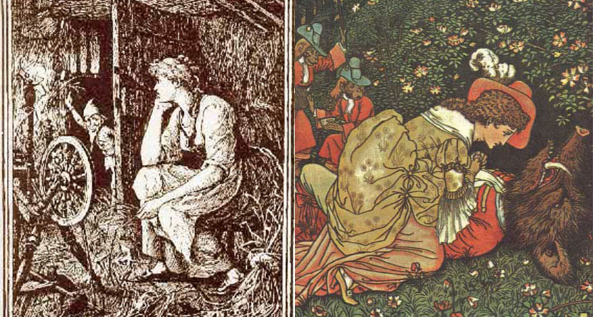 illustrations of folktales