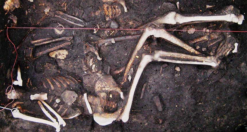 Brandenburg plague victims