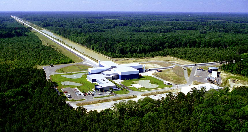 Advanced LIGO in Livingston, Louisiana