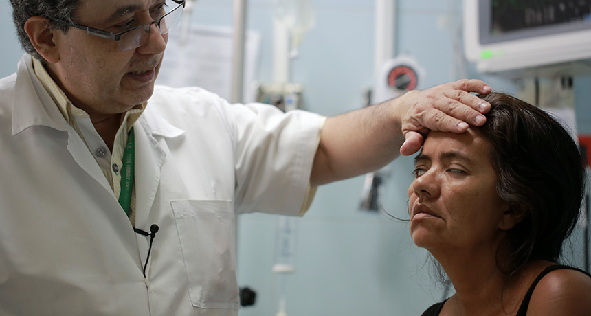 A patient with Guillain-Barré syndrome in Colombia