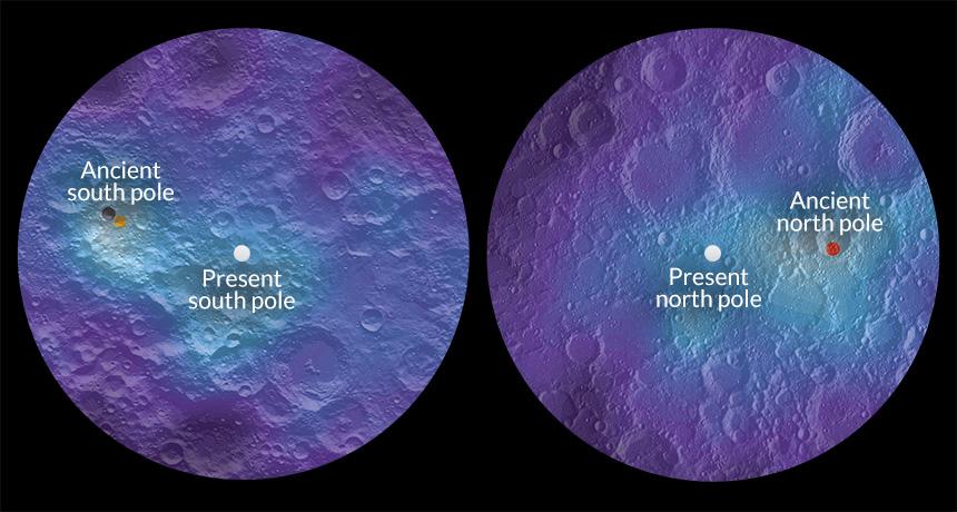 moon poles