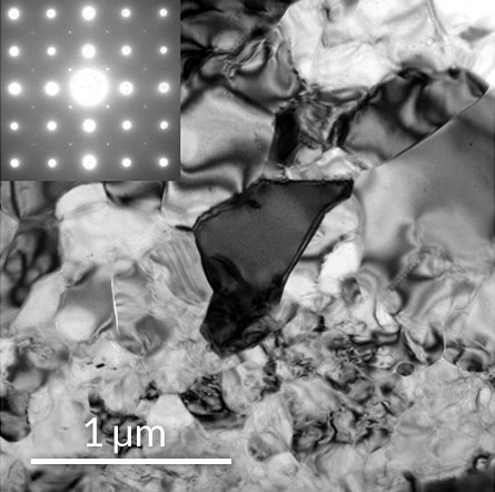 crystal structure of mystery mineral