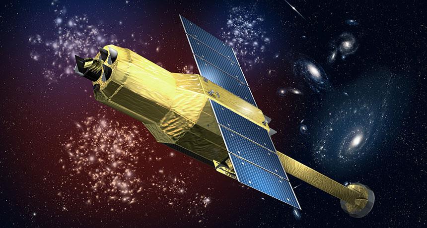 illustration of ASTRO-H