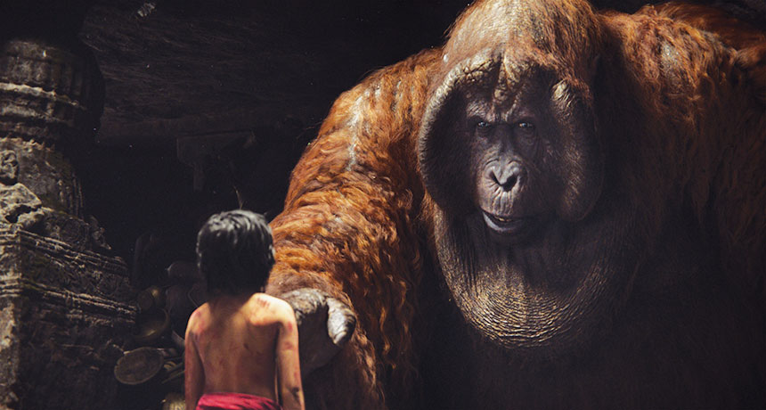 Gigantopithecus in The Jungle Book