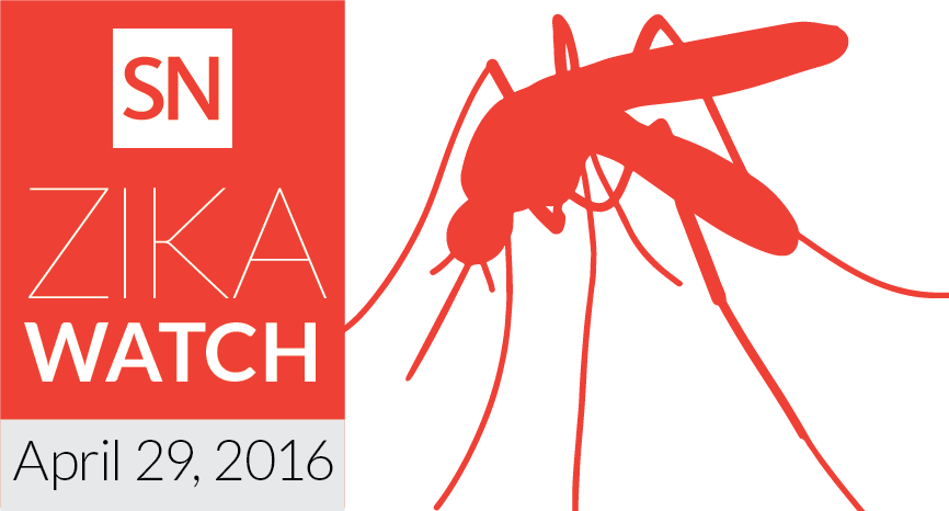 Zika watch for April 29, 2016