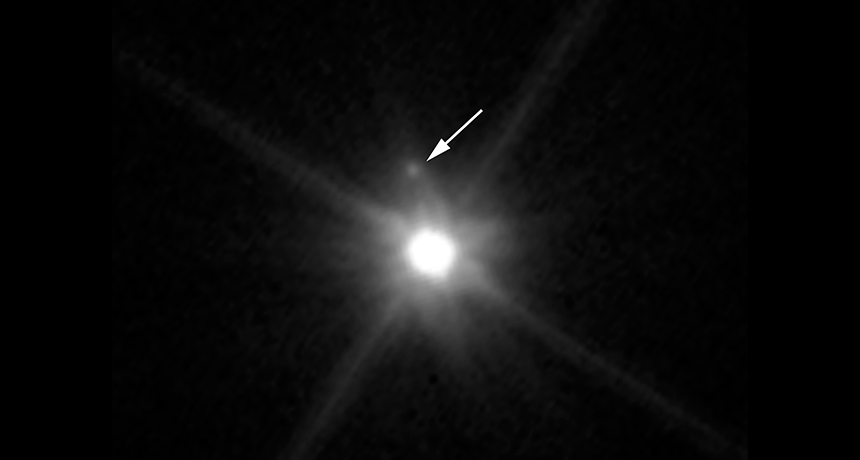 dwarf planet Makemake and newly discovered moon