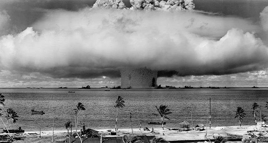 Bikini Atoll Testing