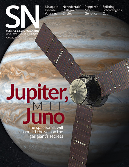 cover of the June 25, 2016 issue