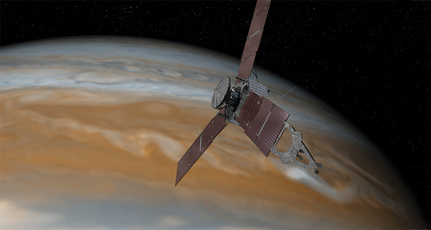 Juno spacecraft meets Jupiter