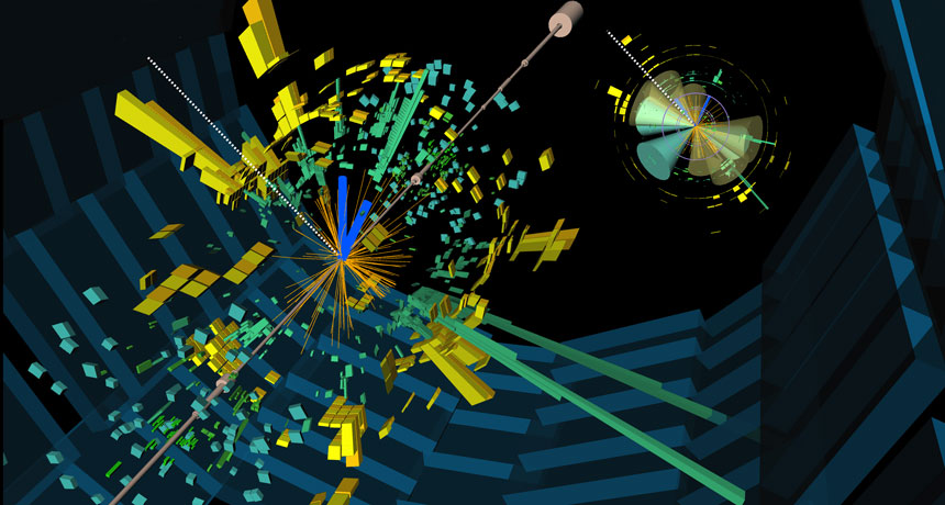 visualization of ATLAS experiment