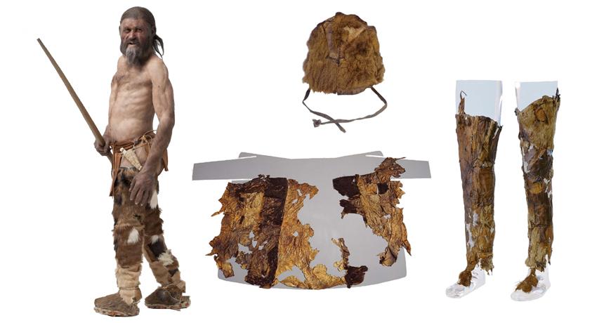 Otzi's garments