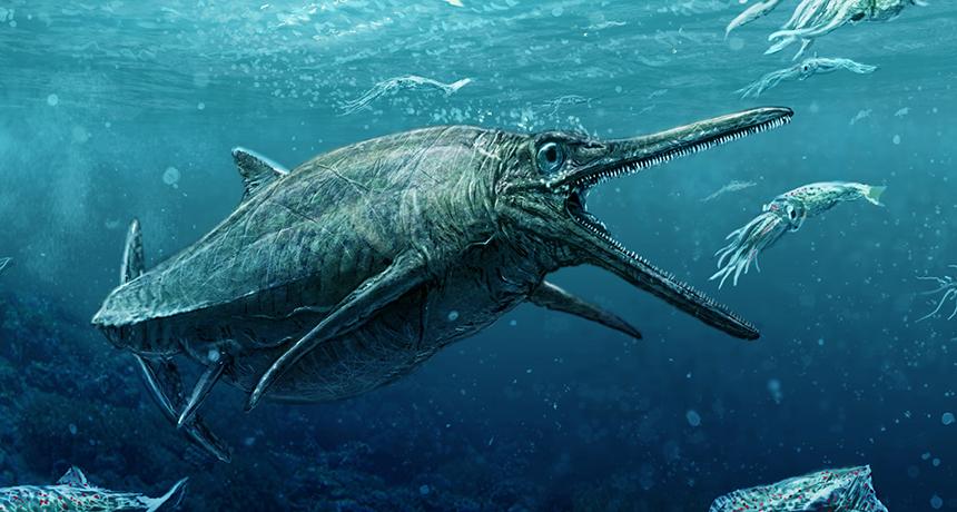 illustration of Storr Lochs Monster