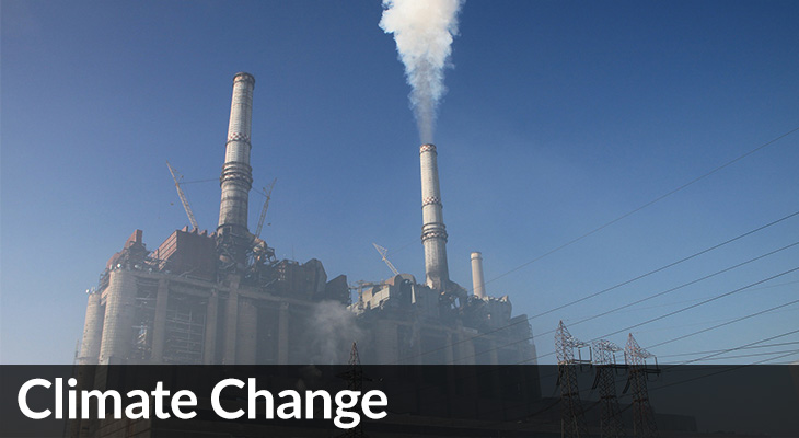 Climate Change: photo of coal plant