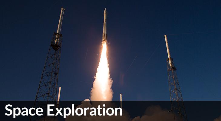 Space Exploration: photo of OSIRIS REx launch