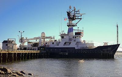 research ship Endeavor