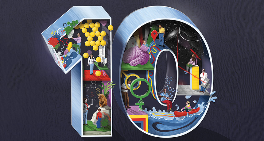 Illustration representing the work of the SN 10