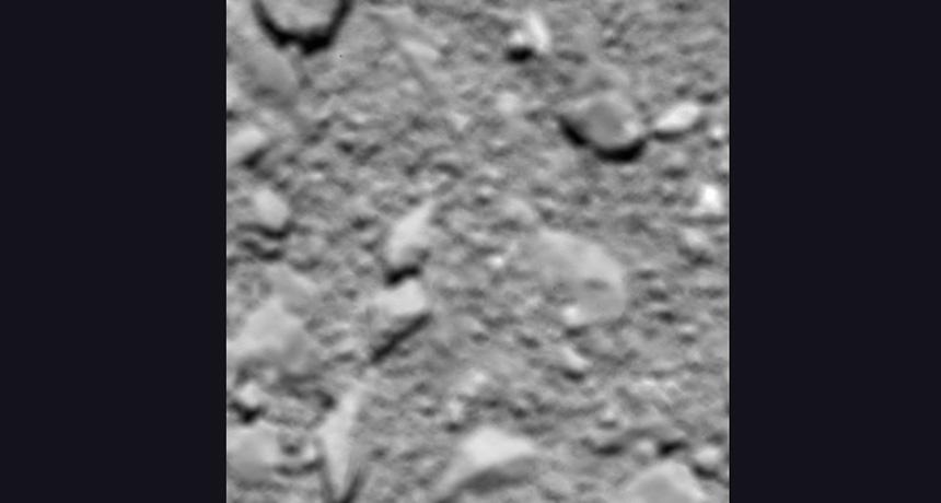 comet 67P from 51 meters
