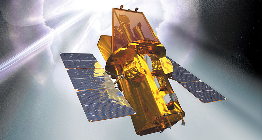 illustration of Swift satellite