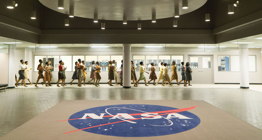 "NASA image from ""Hidden Figures"""