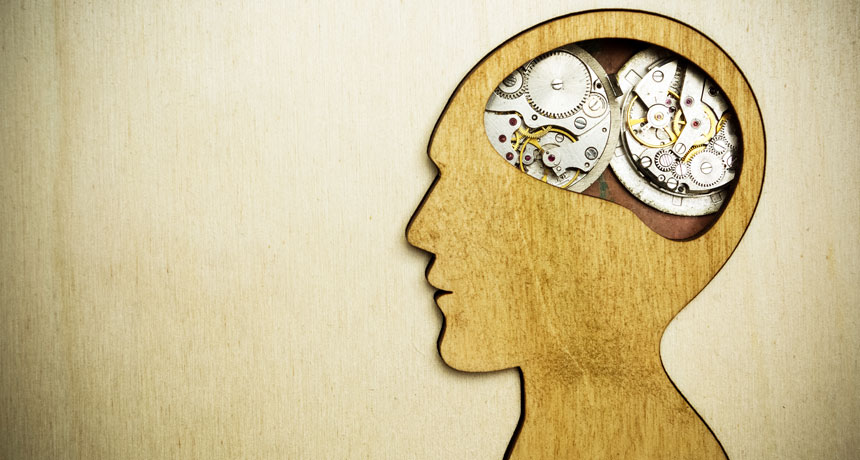 illustration of brain clock