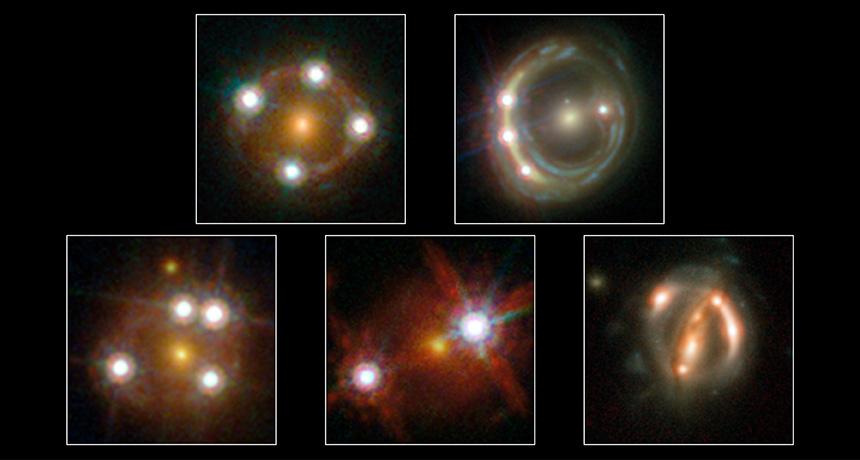 five quasars