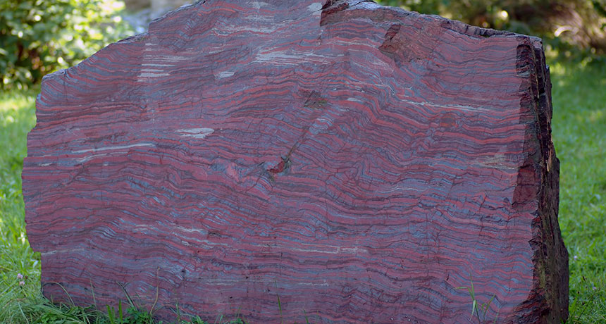 Banded iron