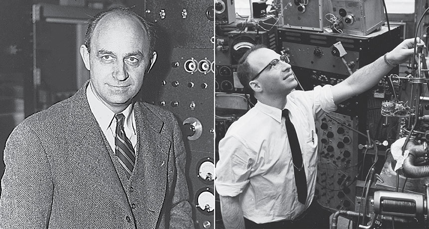Enrico Fermi and Richard Garwin