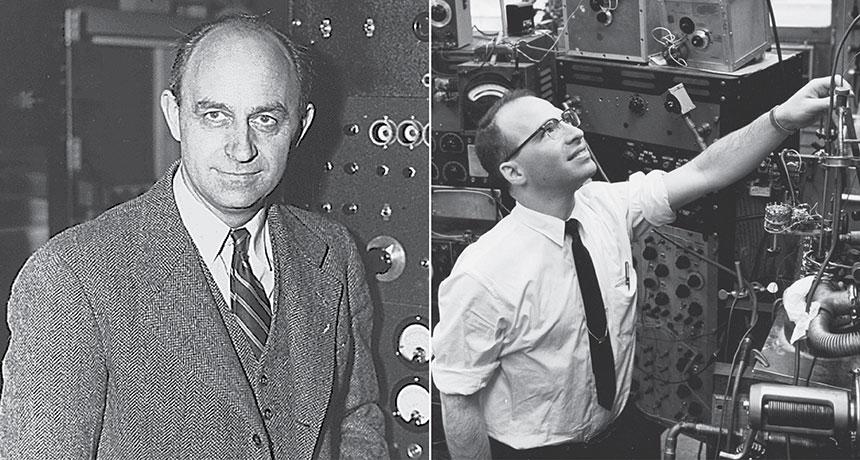 Enrico Fermi and Richard Garwin