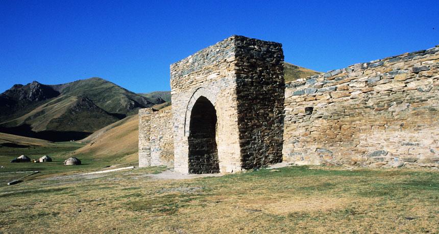 a Silk road caravanserai