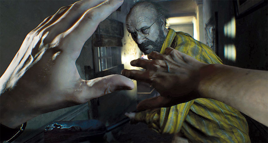 Resident Evil 7 screen capture
