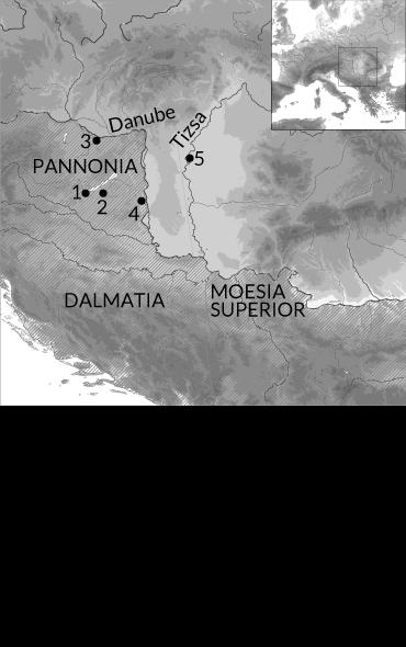 Hun map