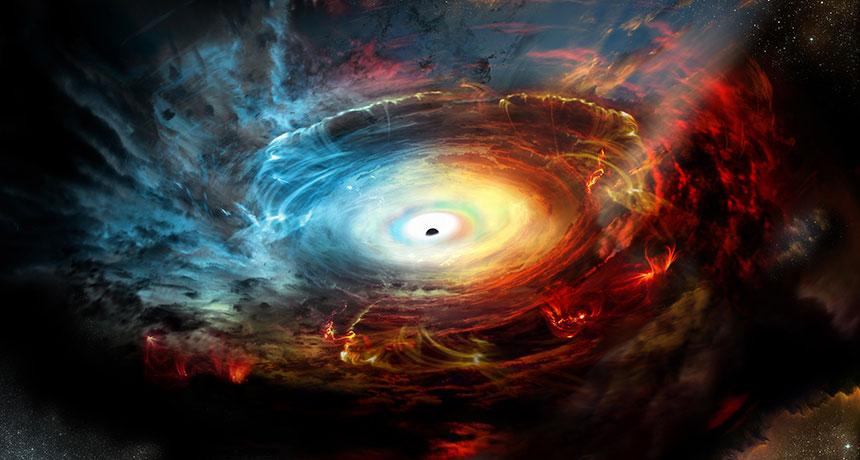black hole event horizon
