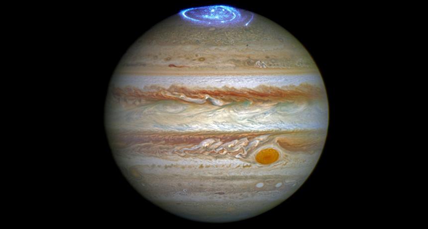 Jupiter's cold spot