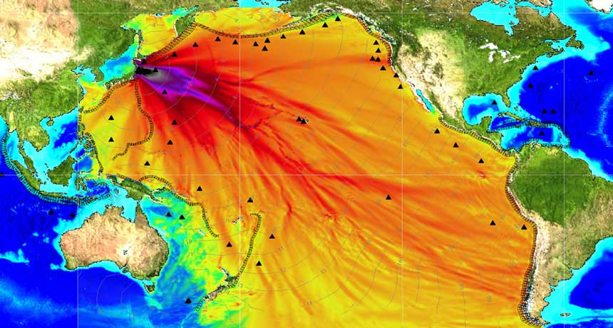 2011 tsunami visualized