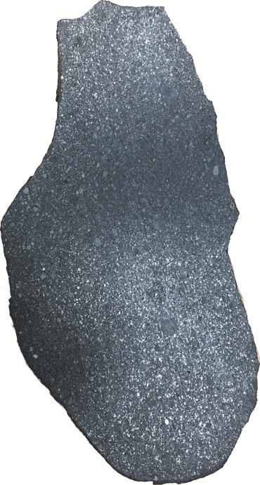 a rock similar to an enstatite chondrite