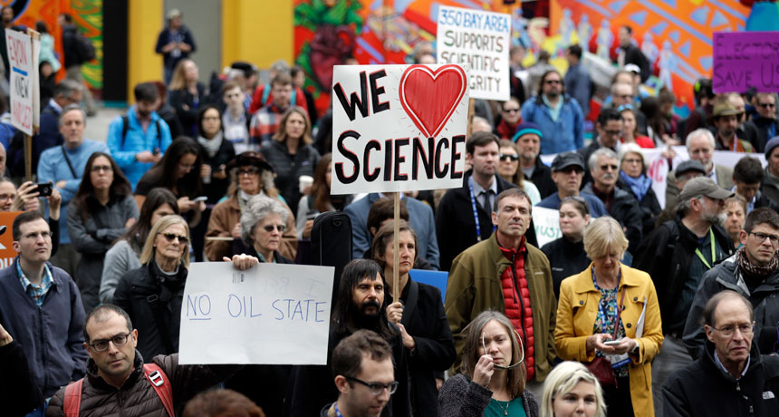 pro-science protest