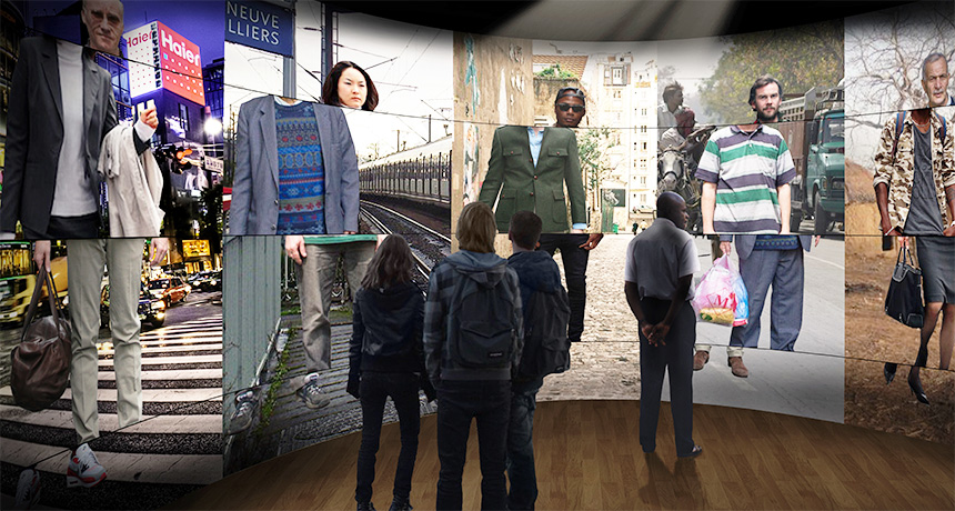 Science of racism exhibit in Paris