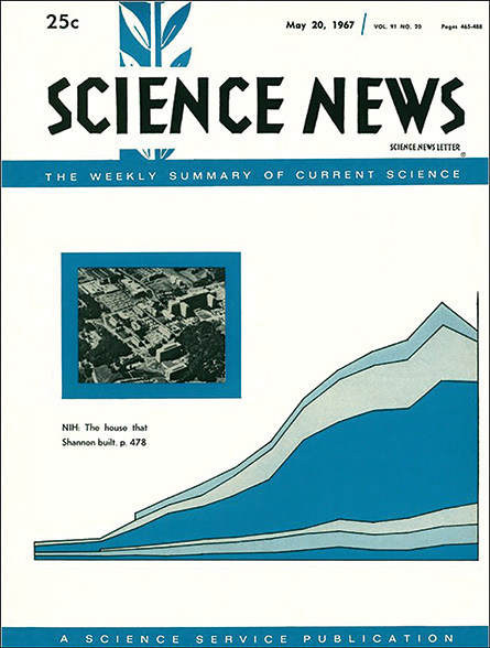 Science News cover from May 20, 1967
