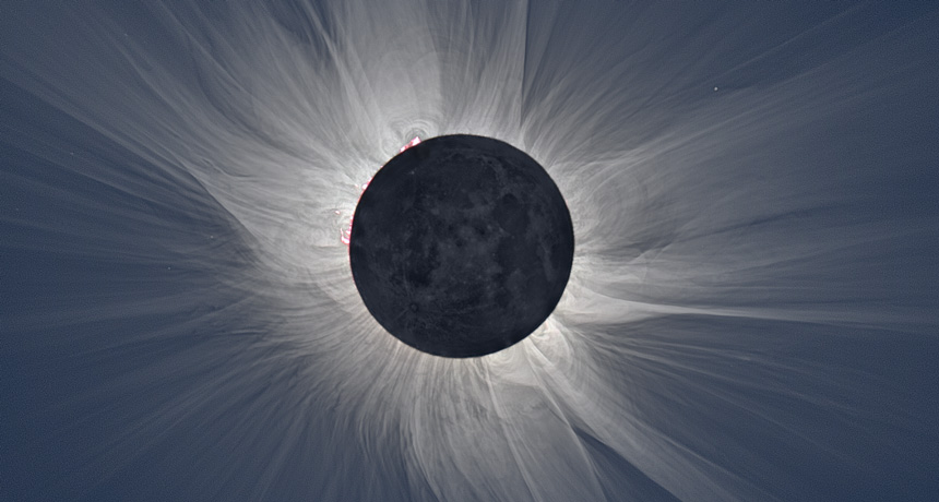 moon in eclipse