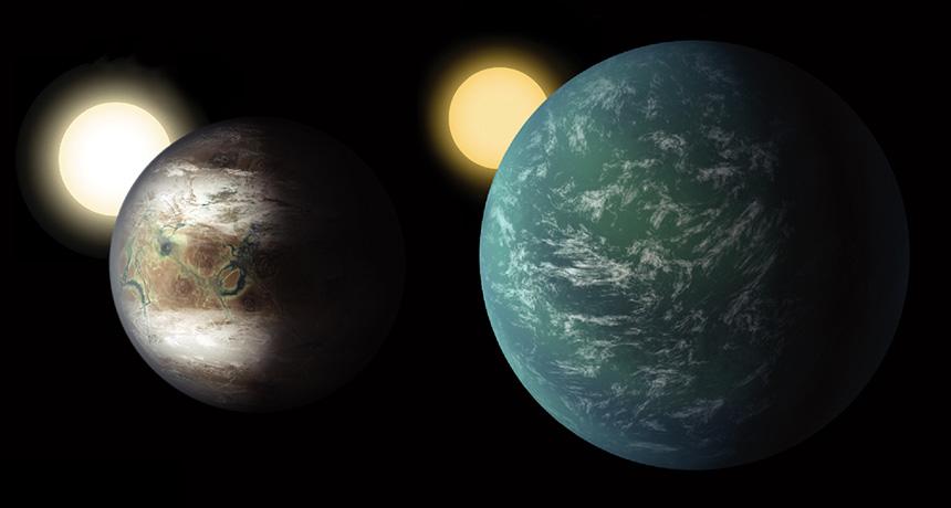 Kepler-452b and Kepler-22b