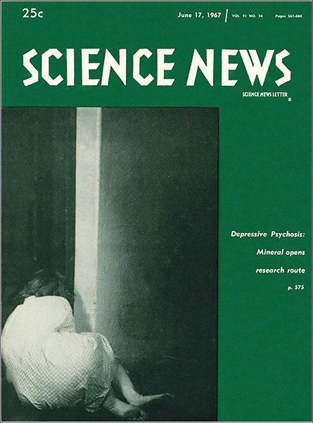 Science News cover from June 17, 1967